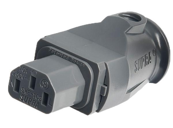 Supra Cables SUPRA LoRad 2.5 CS-EU/ANGLED Délky kabelů: 1,0 m