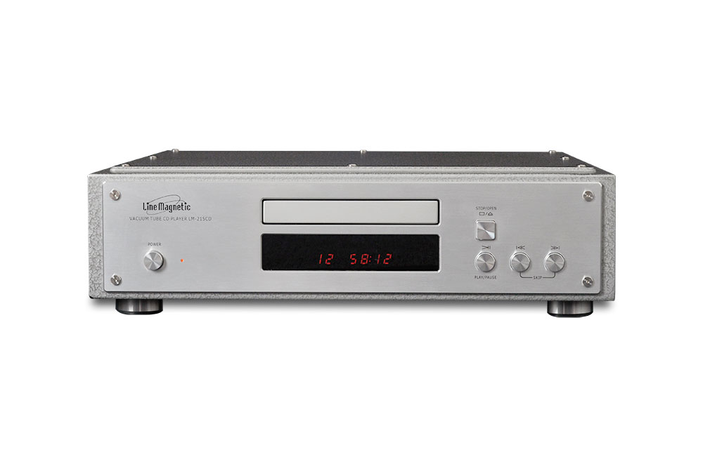 Line Magnetic - LM-215CD CD PLAYER - DAC PCM1792 - POWER STAGE 12AU7