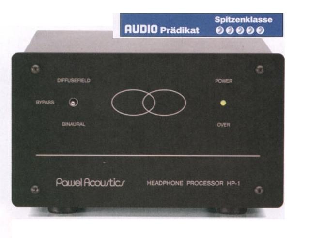 Stax Pawel Acoustics HP-1/007 Mk3