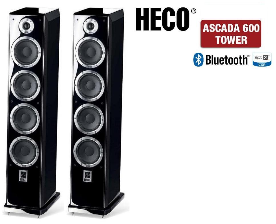 Heco Ascada Tower 600 Barevné provedení: černá - piano black