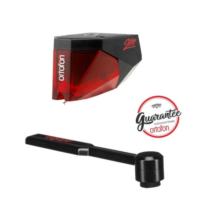 Ortofon 2M RED + Ortofon Carbon Stylus brush