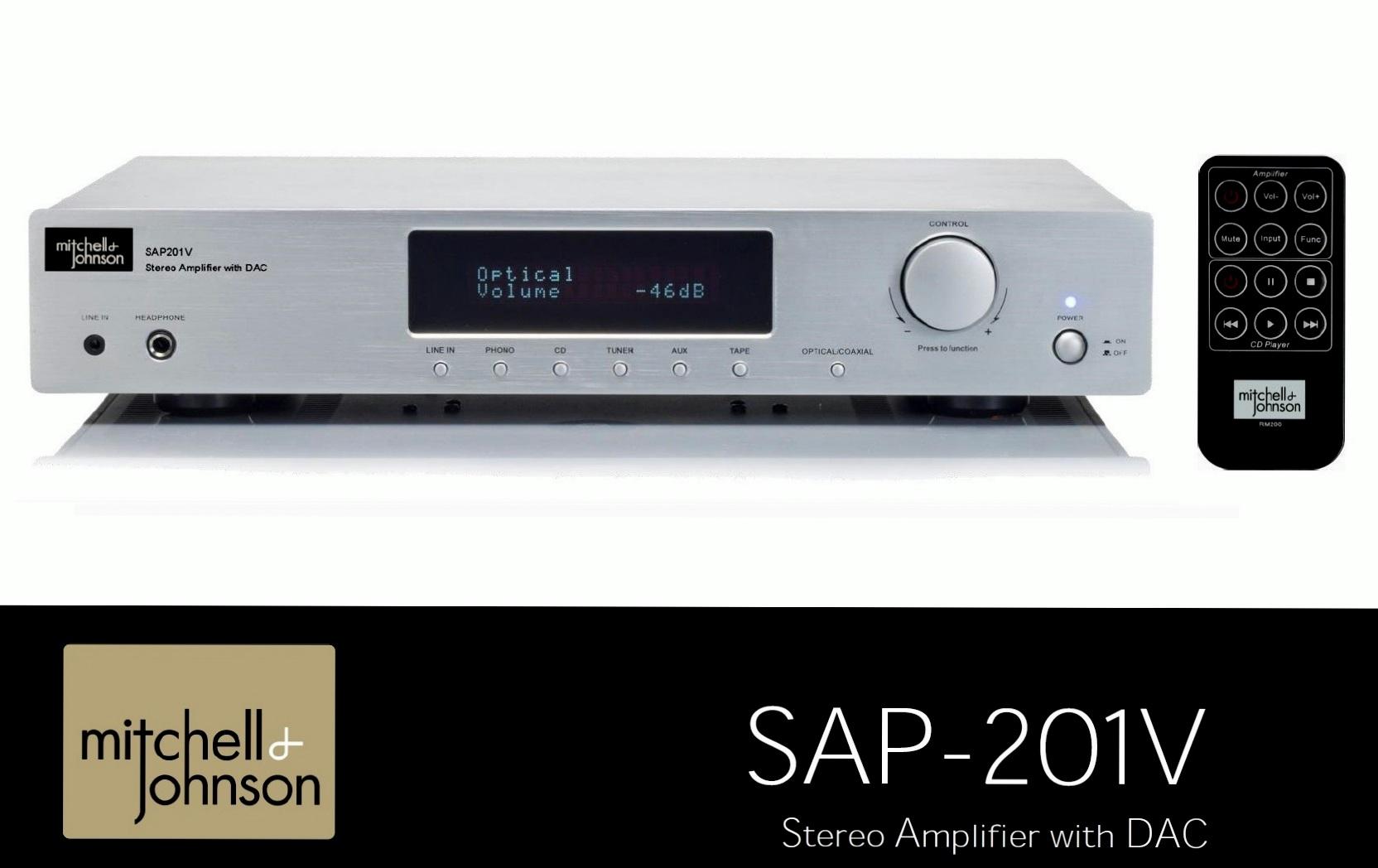 Mitchell & Johnson SAP-201V Barevné provedení: stříbrné