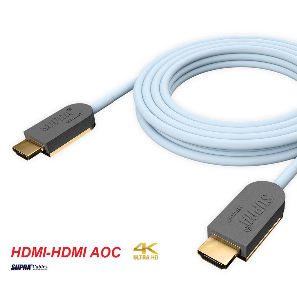 Supra Cables SUPRA HDMI-HDMI AOC OPTICAL 4K/HDR Délky kabelů: 6,0 m