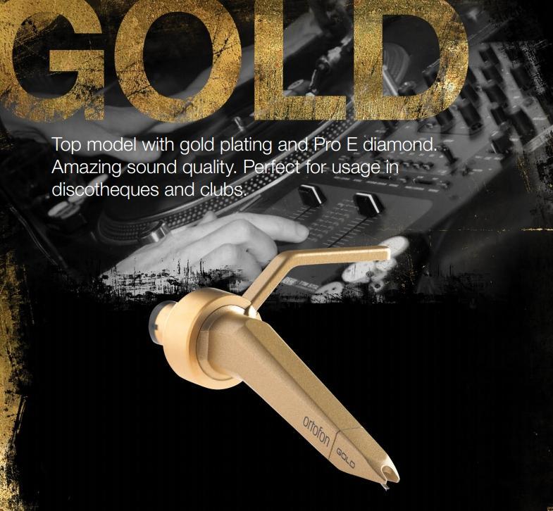 Ortofon Concorde Gold Single