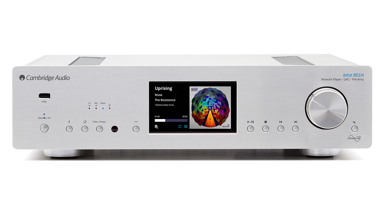 Cambridge Audio Azur 851N Barevné provedení: silver - stříbrná