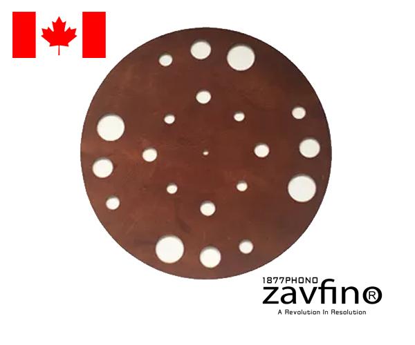 1877PHONO Zavfino - Retro Leather Mat
