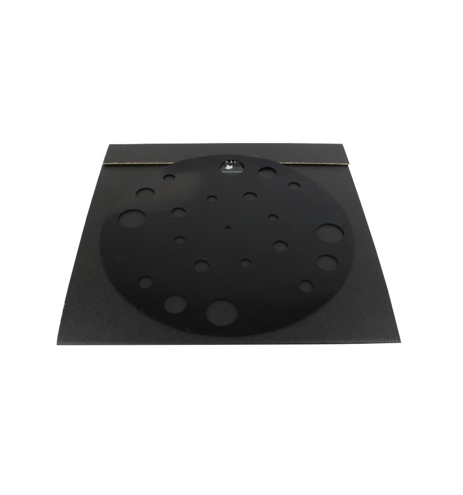 1877PHONO Zavfino - Rubber Turntable Black