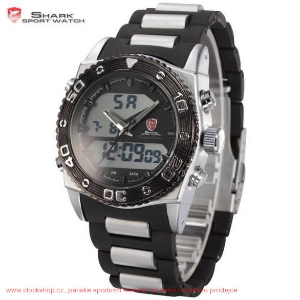 SHARKsportwatch Shark Black Eightgill Black SH176