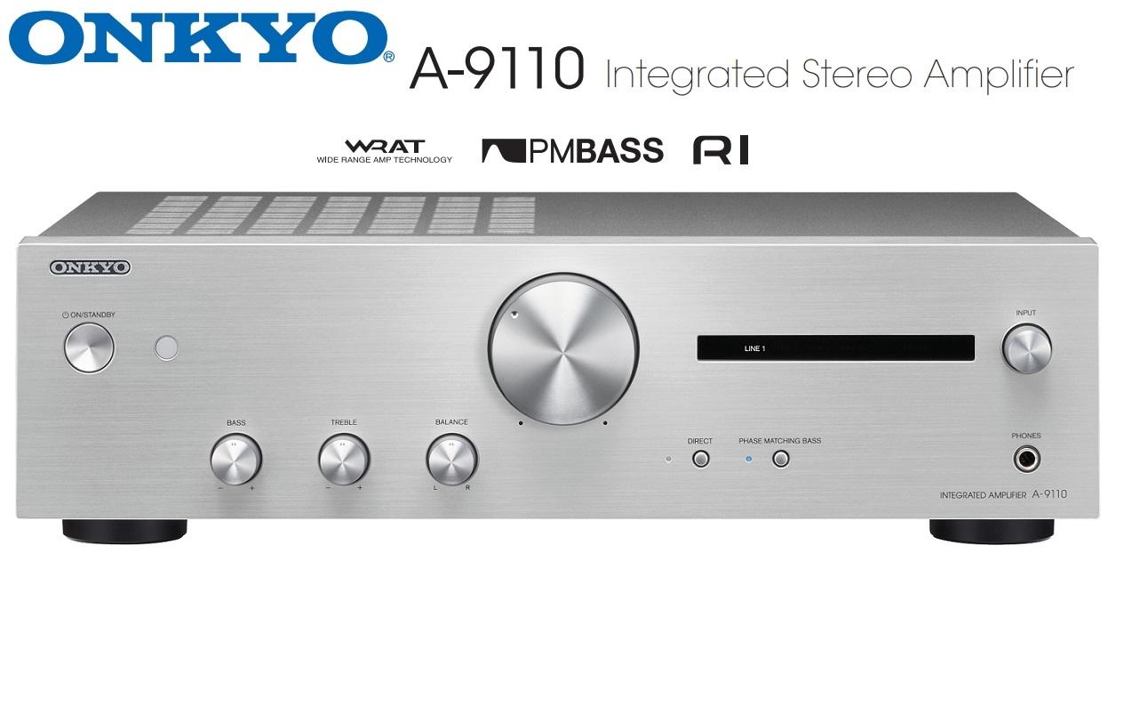 Onkyo A-9110 Barevné provedení: stříbrné - silver