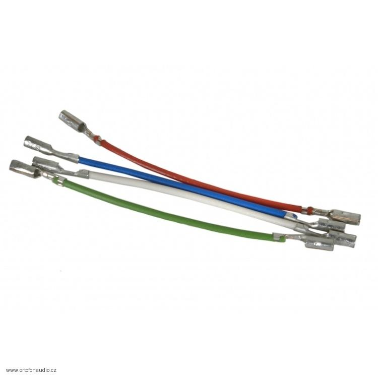 Ortofon Lead wires/headshell cables - 4ks