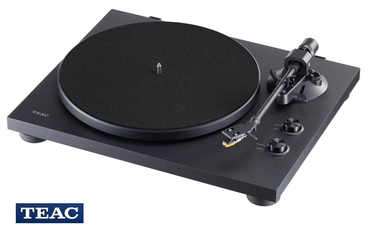 TEAC TN-280BT + Thorens Carbon Fiber Disc Brush Barevné provedení: černé
