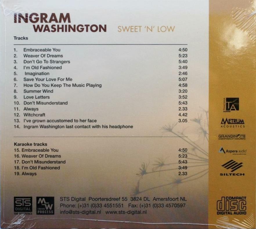 STS Digital - Ingram Washington - Sweet and Low