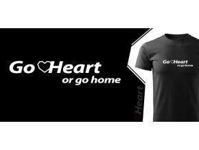 tričko Heart Go Heart