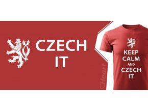 tričko Heart Czech It