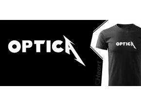 tričko Heart Optica