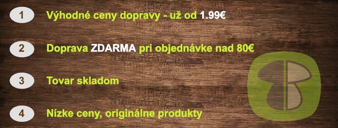 Prečo nakupovať na hubarstvo.sk