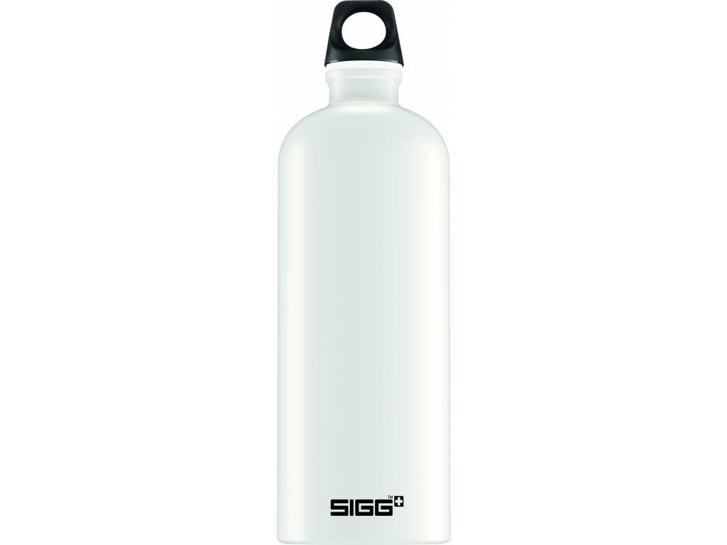 SIGG Fľaša Traveller White Touch - kovové fľaše na vodu SIGG