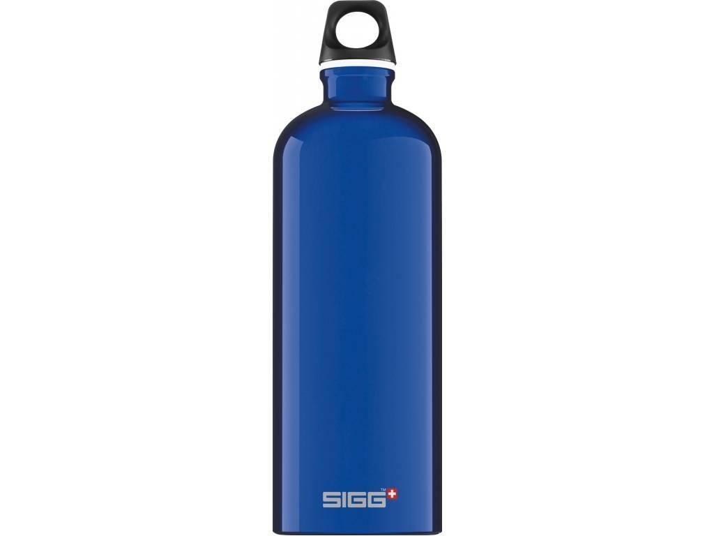 SIGG Fľaša Traveller Dark Blue - kovové fľaše na vodu SIGG