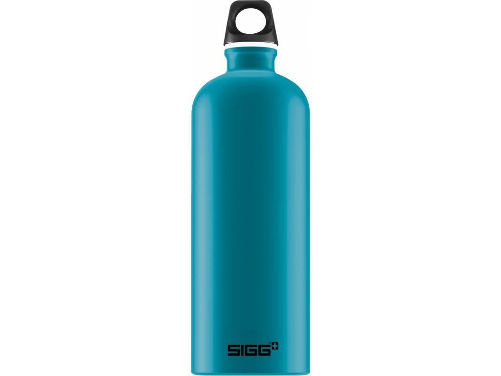 SIGG Fľaša Traveller Teal Touch - kovové fľaše na vodu SIGG