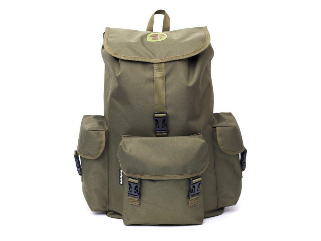 Batoh do prírody Hubarstvo 35l zelený - vyrobený v SR  - Kvalitné batohy do lesa
