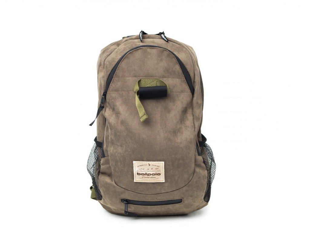 Turistický, poľovnícky batoh Ballpolo AIR LUX 18l hnedý - vyrobený v SR - Kvalitné batohy do prírody