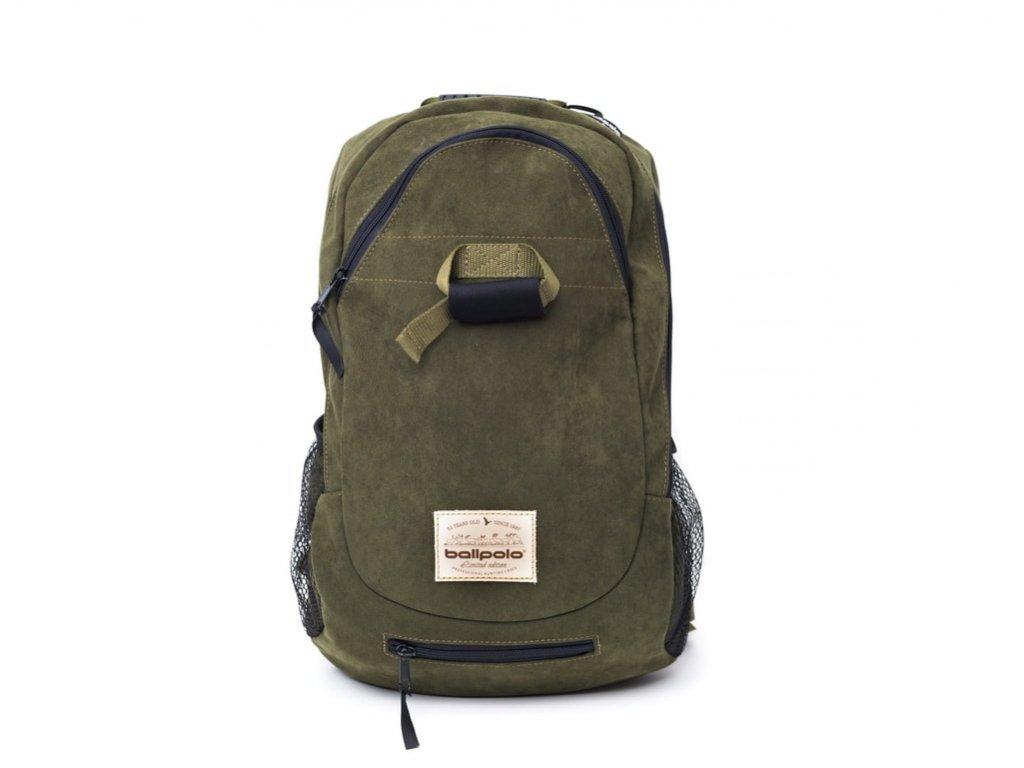 Turistický, poľovnícky batoh Ballpolo AIR LUX 18l olivový- vyrobený v SR - Kvalitné batohy do prírody