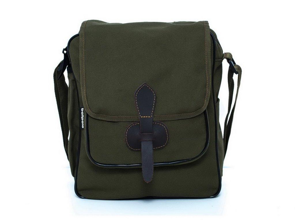 taska na plece ballpolo A4 zelena 1 min