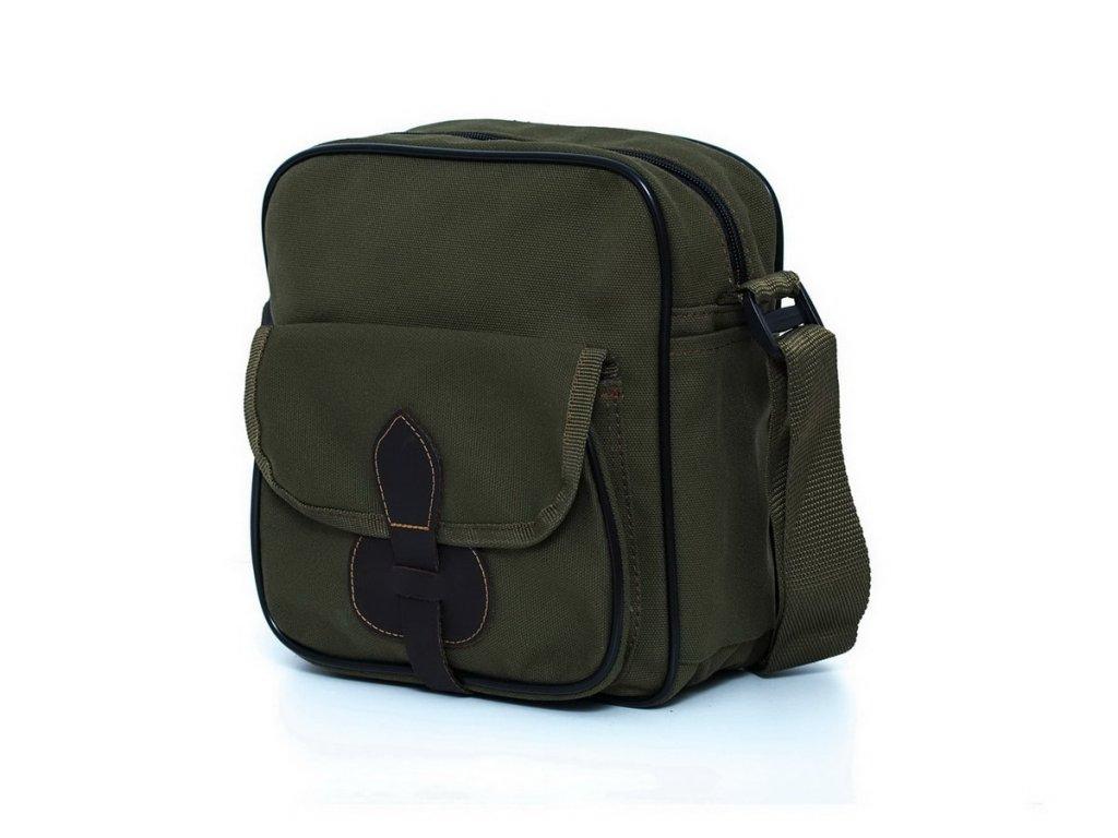 taska na plece ballpolo A5 zelena 1 min