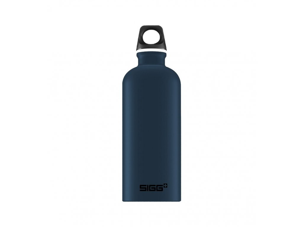 flasa sigg 0.6l 8776.80 alu traveller dark touch 1 min
