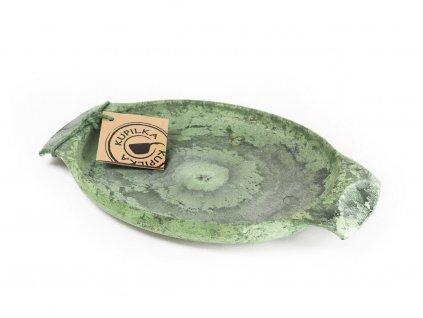 Kupilka 44 zelená - tanier do prírody, kempingový riad