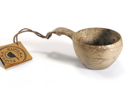 Kupilka 21 hnedá - kuksa, pohár do prírody