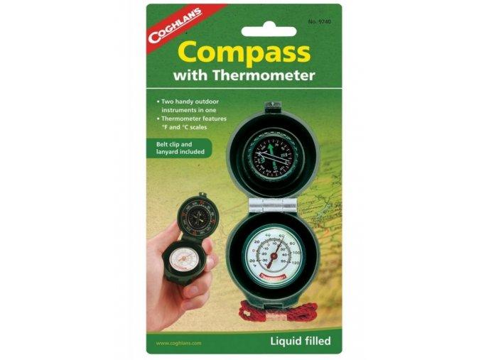 Kompas s teplomerom Coghlans
