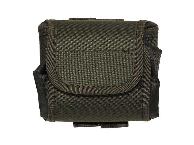 Kapsička s vreckom na opasok MOLLE MFH 30622B - zelená