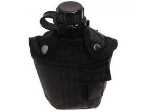 Fľaša poľná 1L MFH 33213A - čierna - fľaše na vodu
