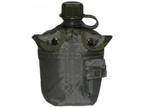 Fľaša poľná 1L MFH 33213B - zelená - fľaše na vodu