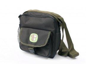 Hubárska taška na plece - chlebník A5 - vyrobená v SR - Tašky a kapsičky