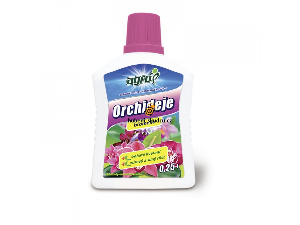 Kapalne hnojivo pro orchideje 0,25l