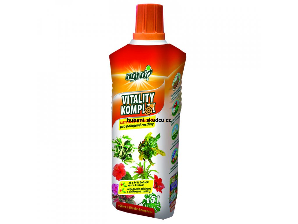 vitality komplex pokojove rostliny 05l