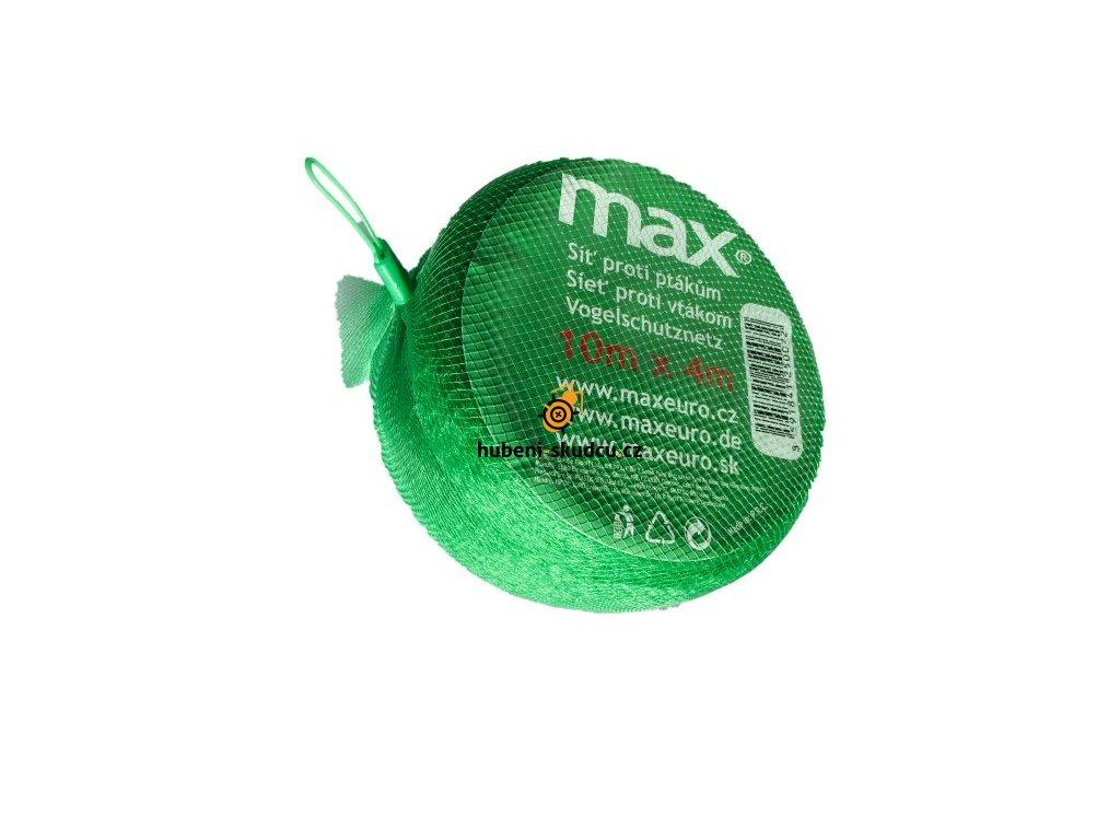 max sit proti ptakum 4x10m