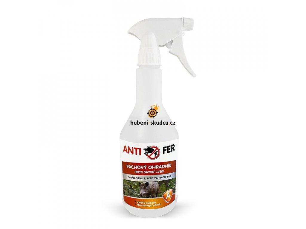 pachovy ohradnik antifer proti divokým prasatům červený 750ml