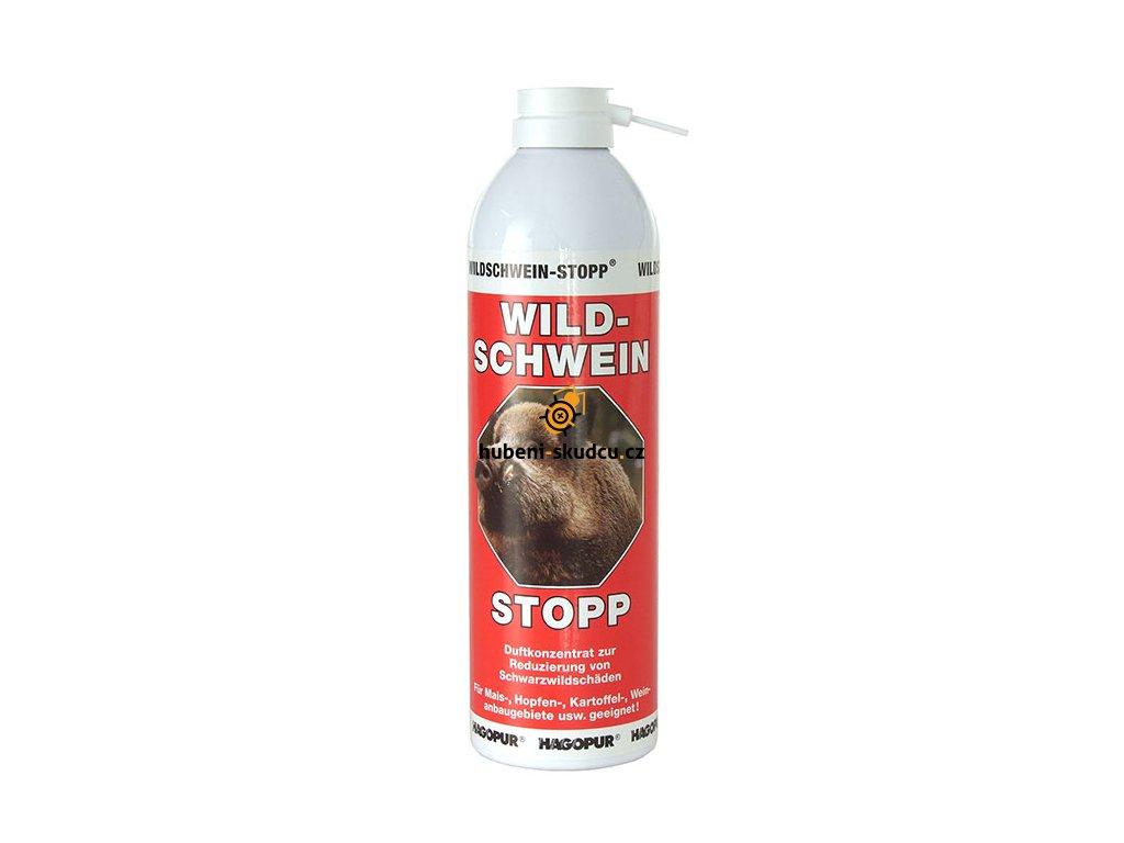 HAGOPUR Odpuzovač divokých prasat červený 500ml  Pachový ohradník