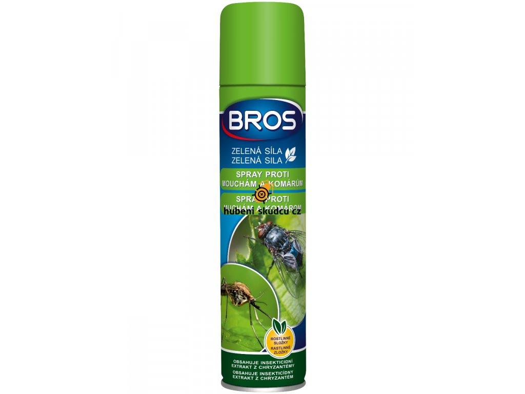 BROS zelena sila spray proti mucham a komarom 300ml