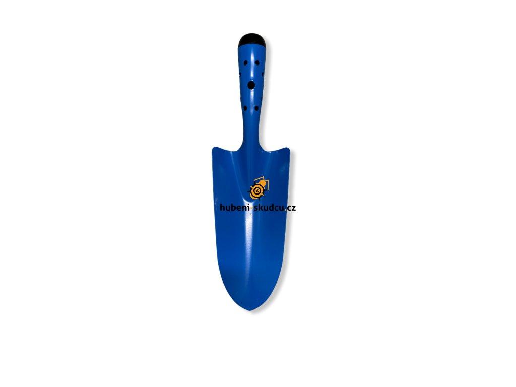 kovova sazeci lopatka modra