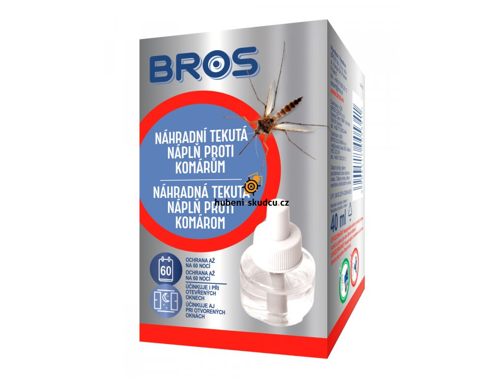 BROS Nahradni tekuta napln proti komarum