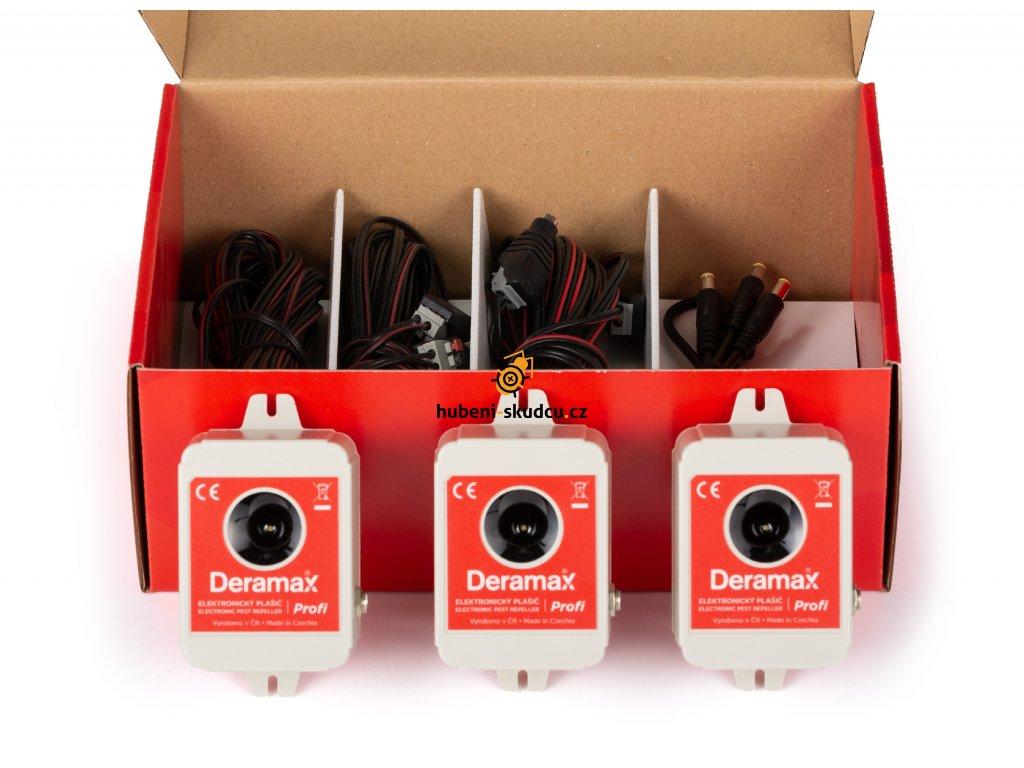 Sada tří odpuzovačů Deramax