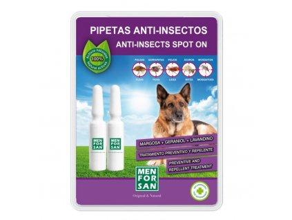 menforsan antiparazitni pipety pro psy 2 kusy