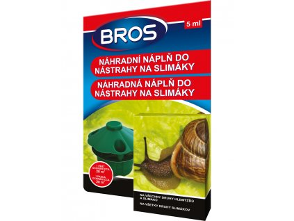 BROS nahradni napln do nastrahy na slimaky 5ml