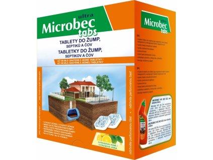 bros microbec tablety do zump septikov a cov 16x20g