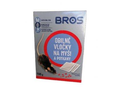 BROS obilne vlocky na mysi a potkany 50 g