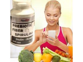 Prebiotikum Spirulina Vláknina Inulin ideální pro detoxikaci, hubnutí a při redukci nadváhy